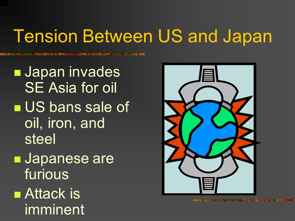 Tension Between US and Japan