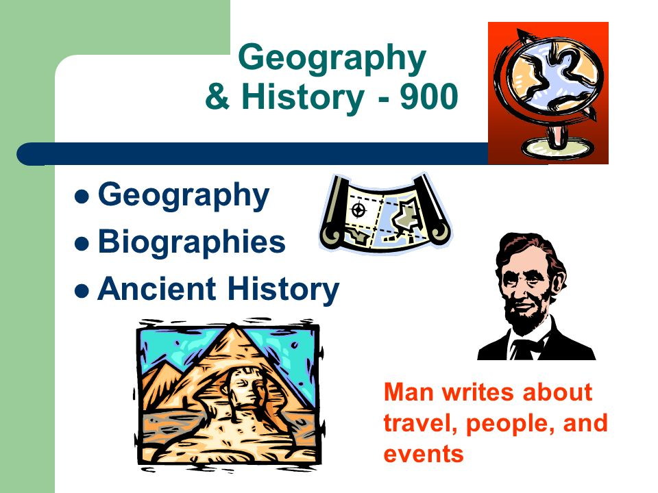 Geography & History - 900 Geography Biographies Ancient History