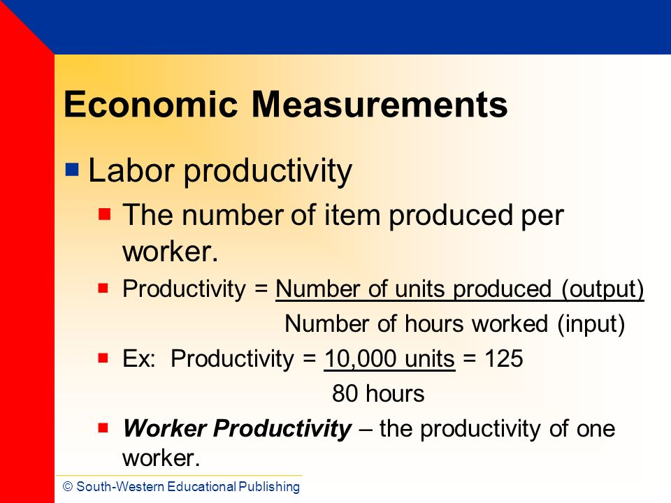 Economic Measurements