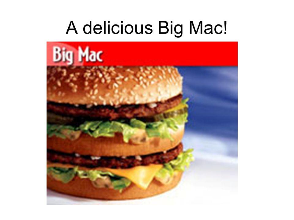 A delicious Big Mac!