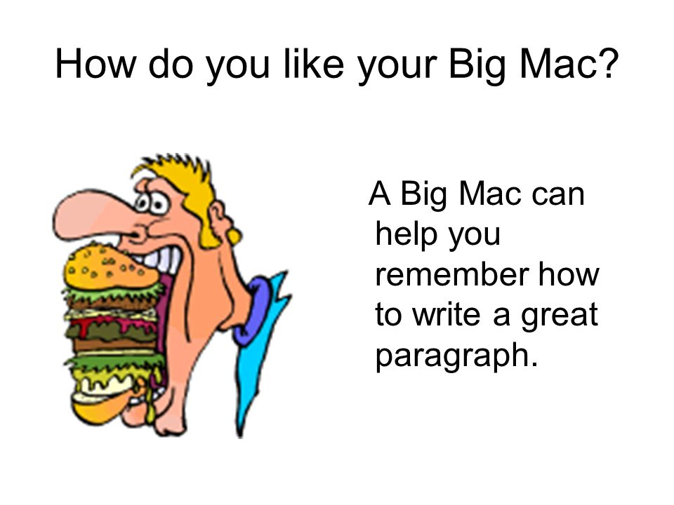 How do you like your Big Mac