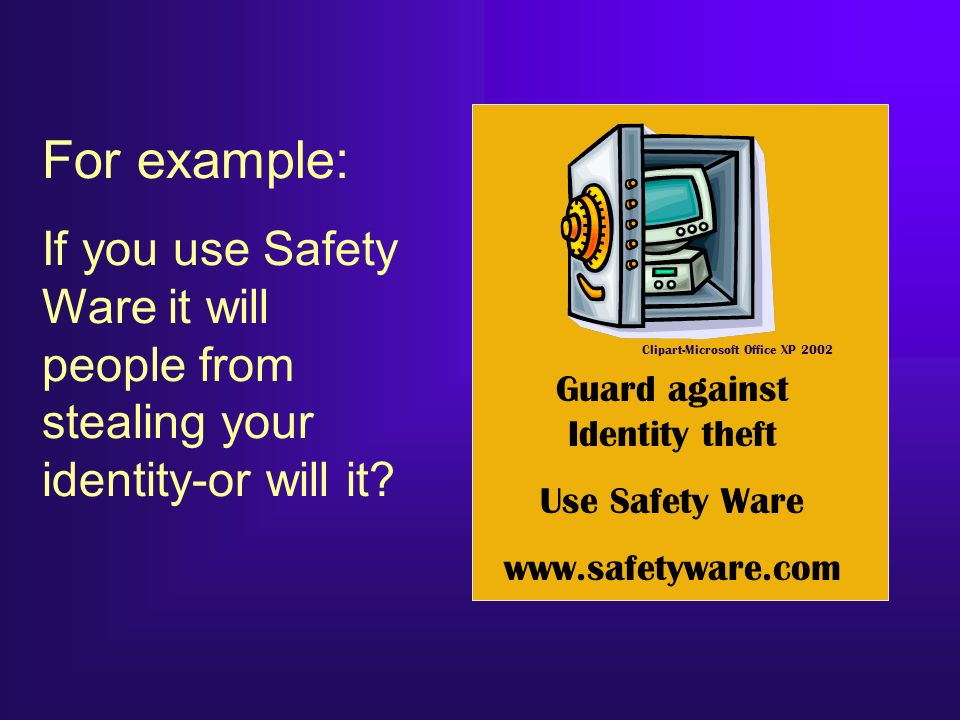 Guard against Identity theft