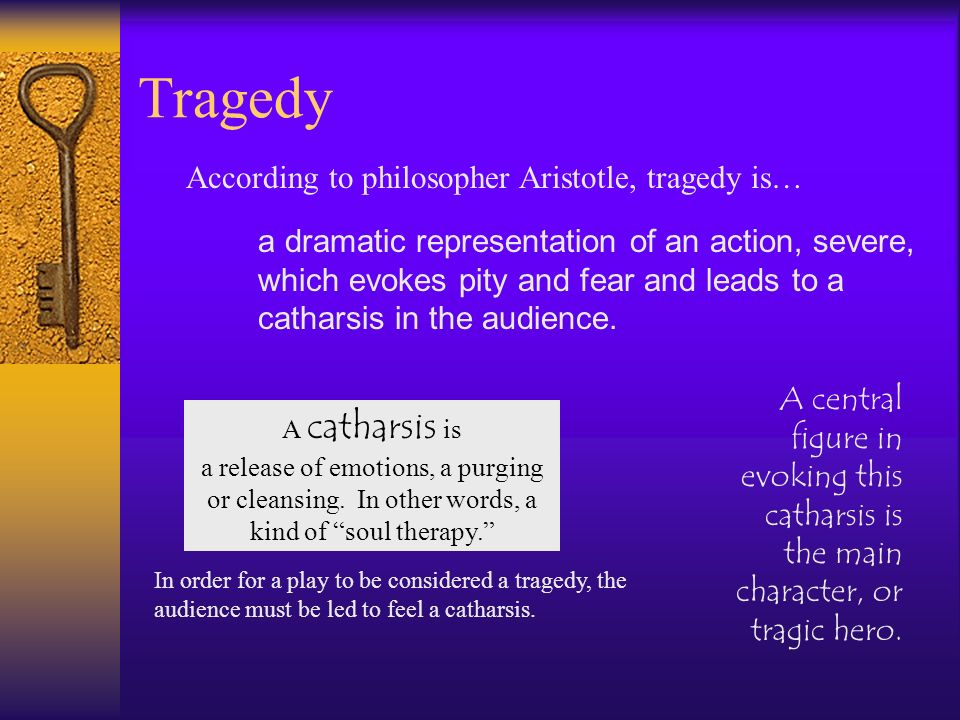 Tragedy According to philosopher Aristotle, tragedy is…
