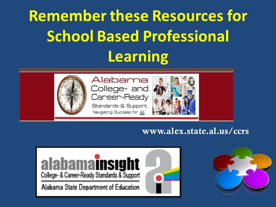 Remember these Resources for School Based Professional Learning