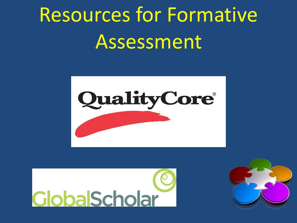 Resources for Formative Assessment