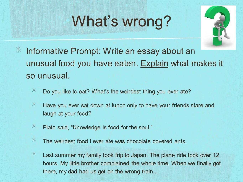 essay about unusual friendship