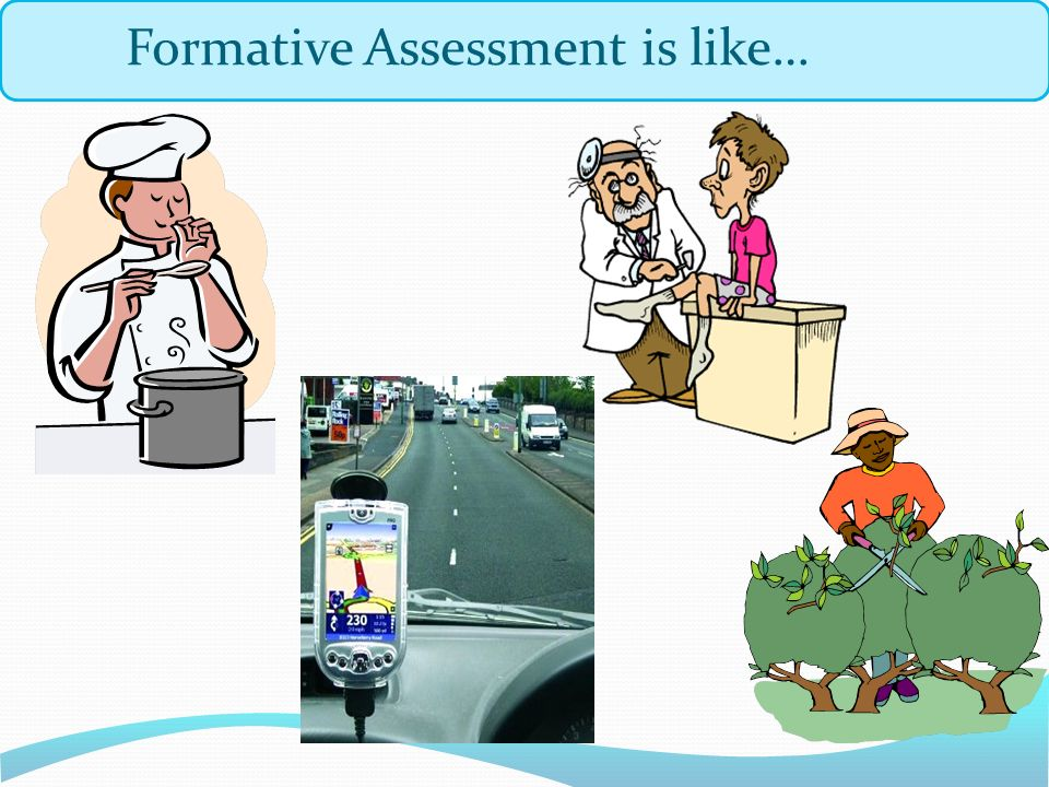 Formative Assessment is like…