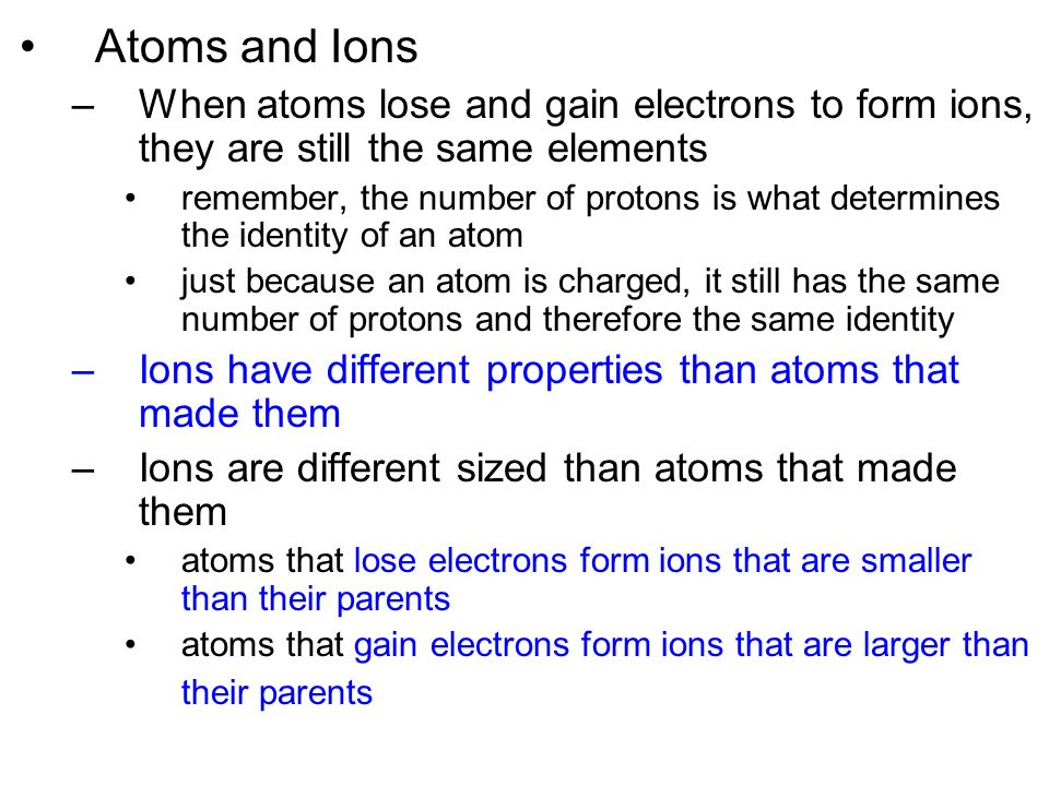 Ions and Ionic Compounds - ppt video online download