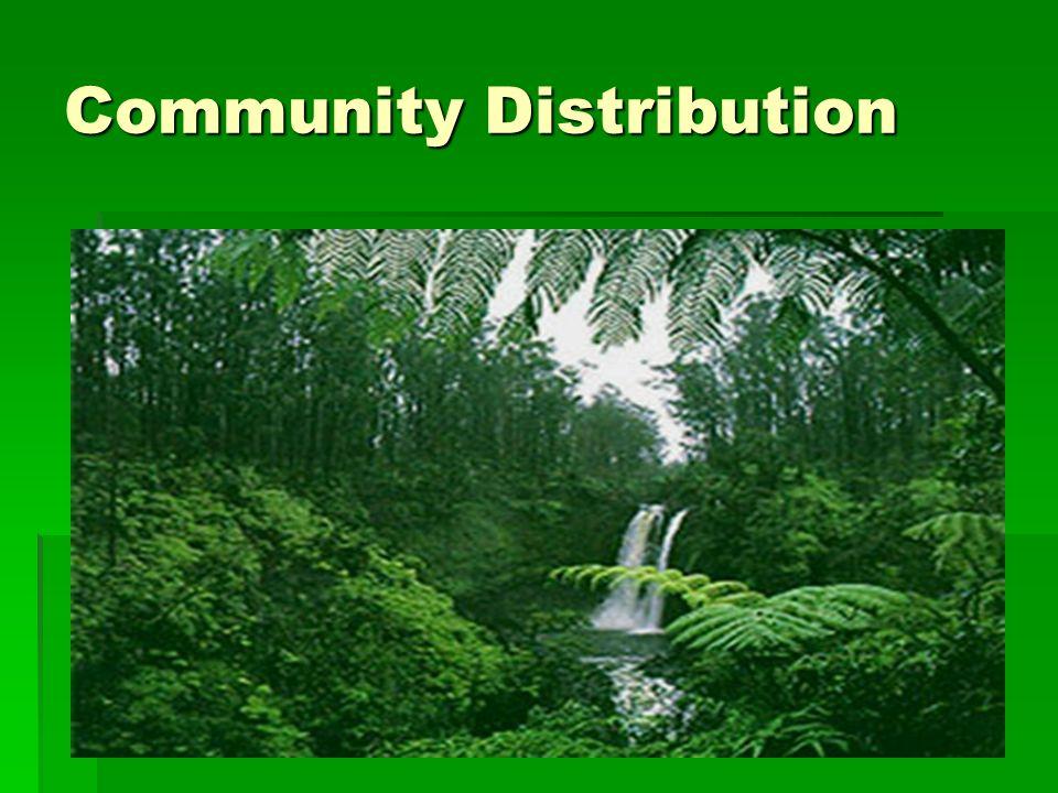 Community Distribution