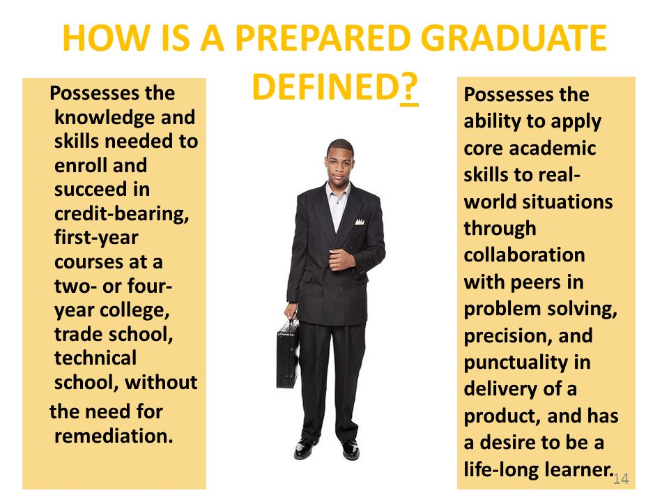 HOW IS A PREPARED GRADUATE DEFINED