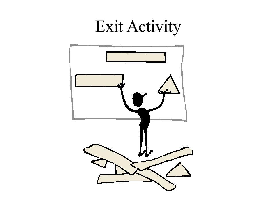 Exit Activity Slide 16.