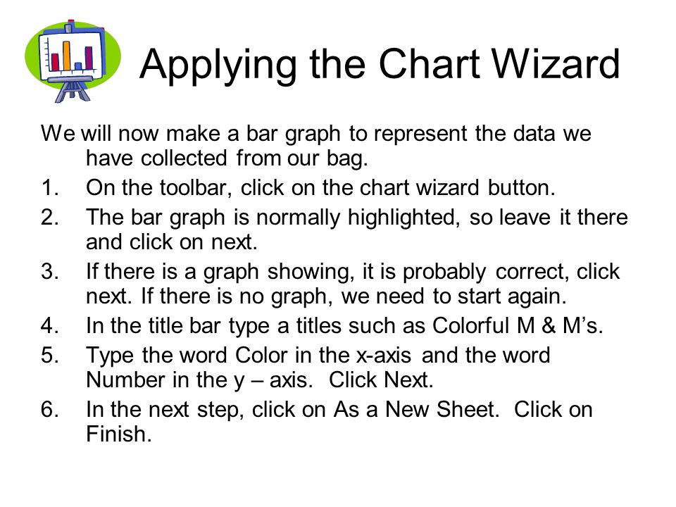 Applying the Chart Wizard