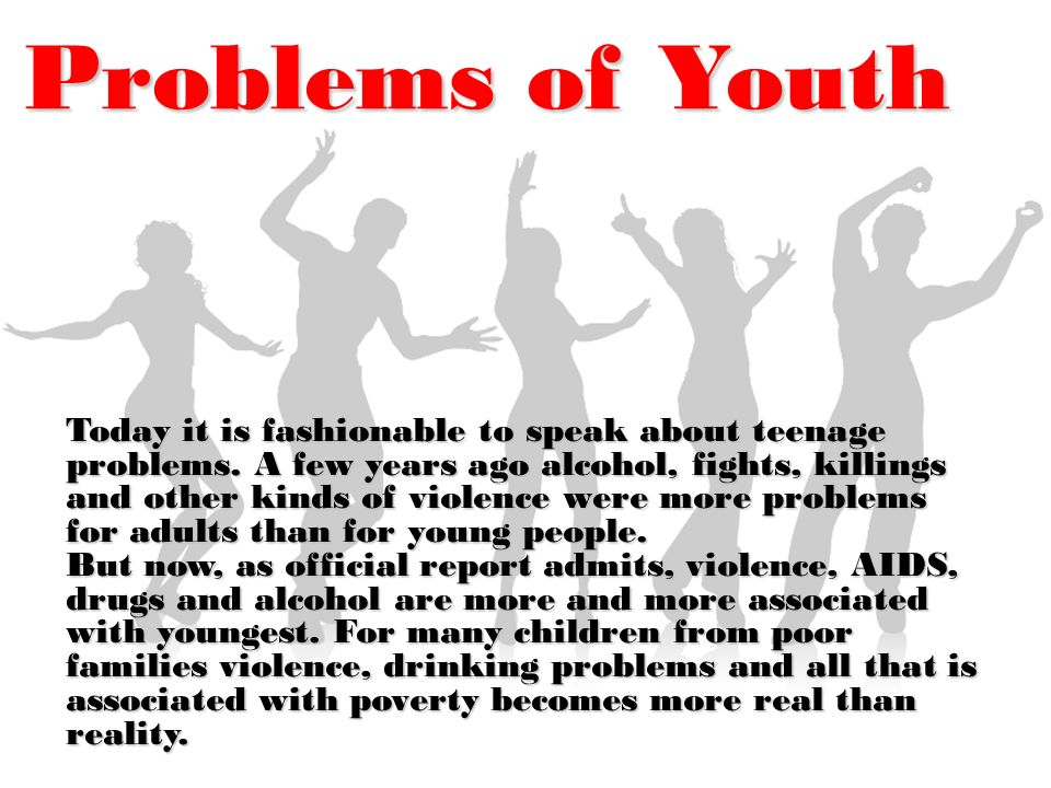 Top 10 Issues Facing Our Youth Today