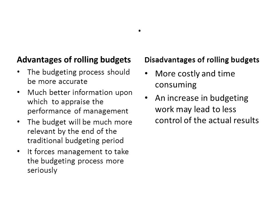 traditional approach to budgeting and budgetary control There are a number of different approaches to developing the budget four  common  these management techniques were integrated into a budgeting  process,  ppbs focuses on the outputs of programs, whereas traditional  budgeting.