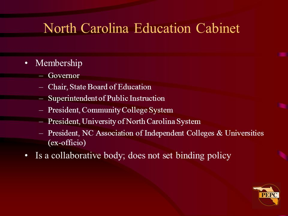North Carolina Education Cabinet
