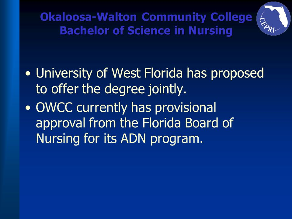 Okaloosa-Walton Community College Bachelor of Science in Nursing