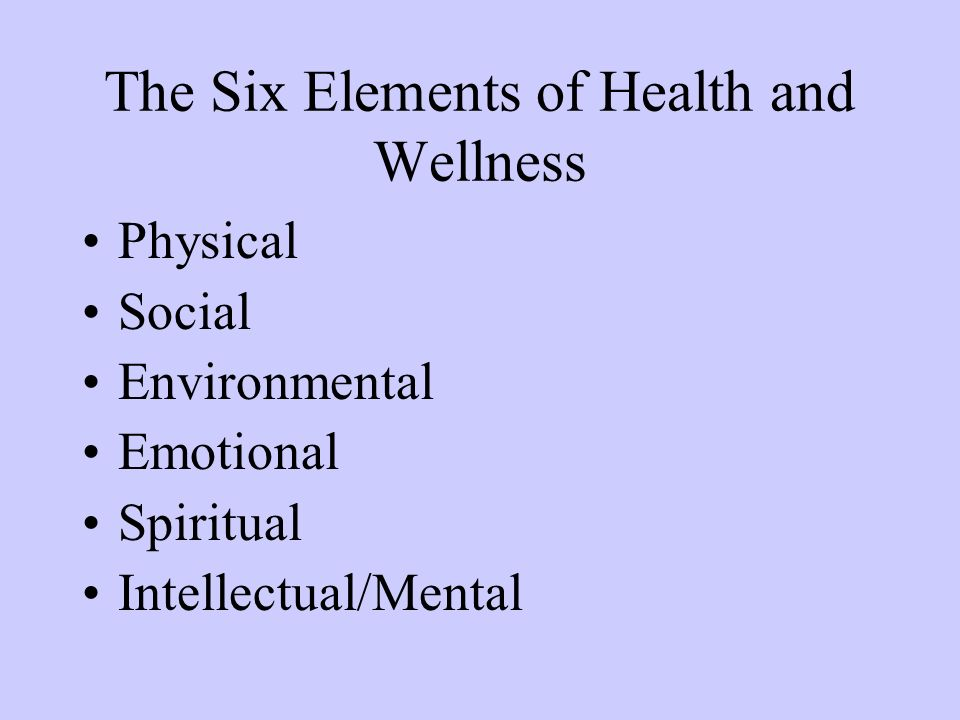 six dimensions of health by donatelle Donatelle (2006, pg 9-10) defines six dimensions of health, physical,  intellectual, social, emotional, environmental and spiritual these are.