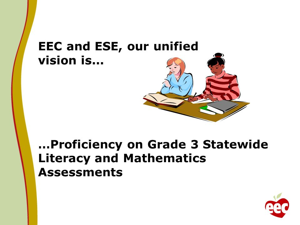 EEC and ESE, our unified vision is