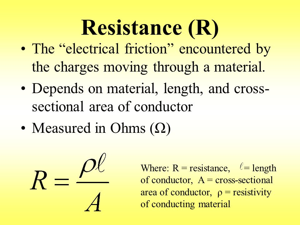 Resistance Tester Through Materials : Current resistance voltage electric power energy series