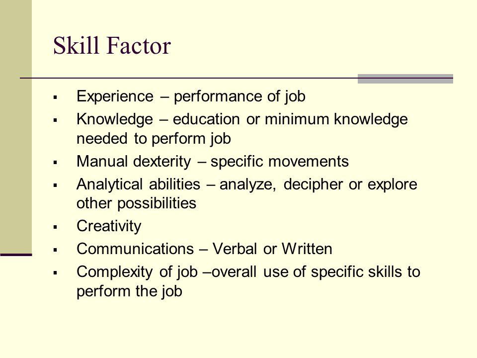 Job AnalysisJob Evaluation ppt video online download