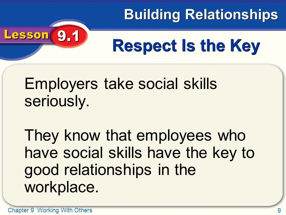 key psychotherapeutic relationship skills in the workplace