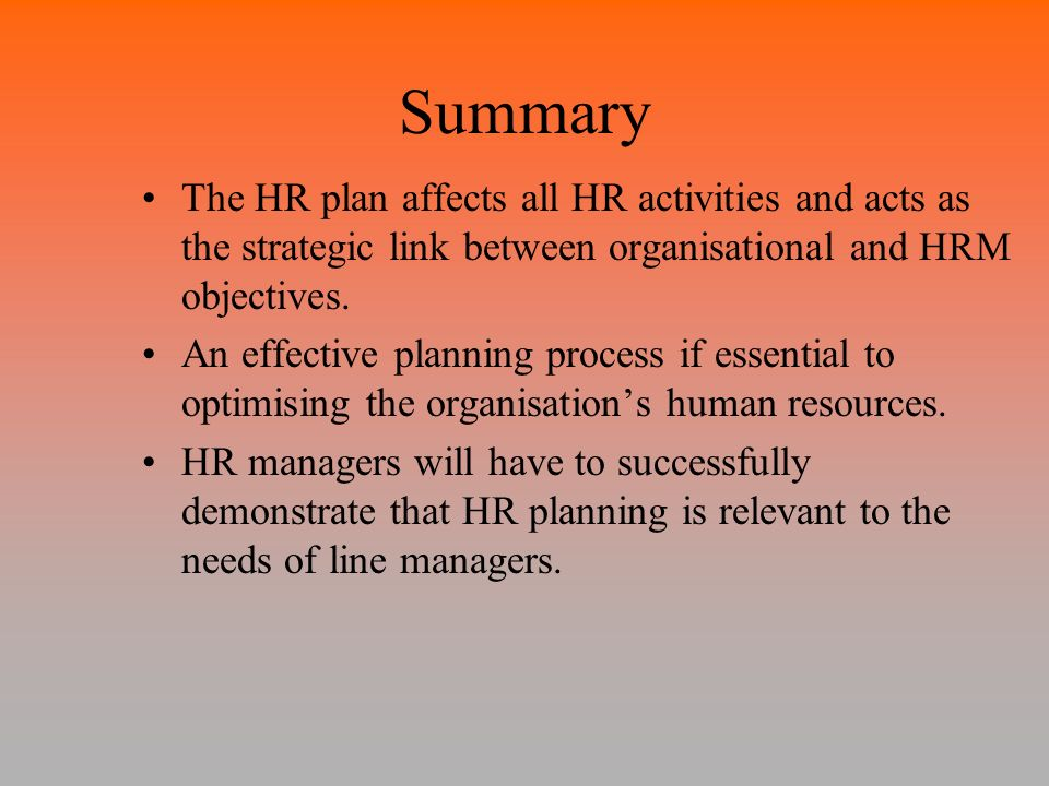 connection between human resource planning and recruitment Human resource planning made easy with a workforce action plan, hr manual  template  questions you should ask to determine your current staffing situation.