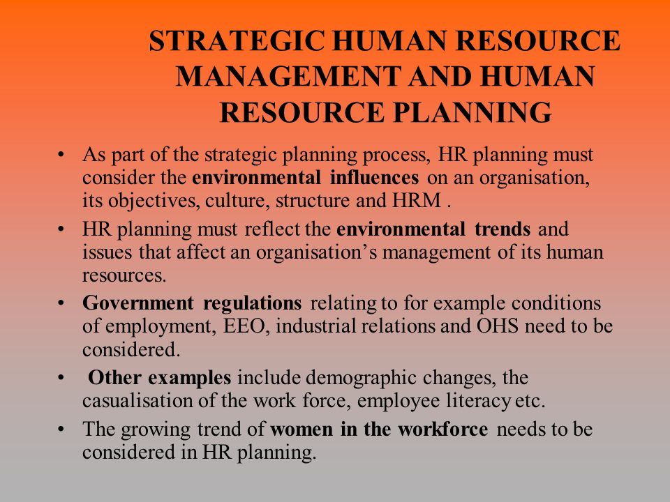 issues in industrial relations and human resource management Employee relations is the overall management of employees including their   from countries other than australia, there are a range of issues which need to be .