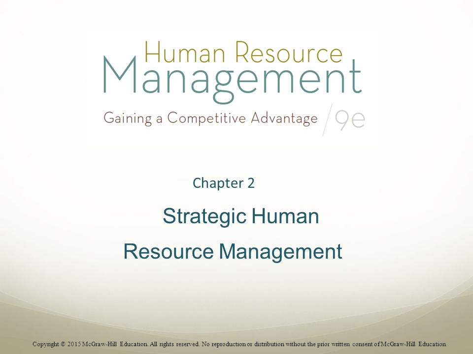 strategic human resource management chapter 2 ppt video onlinestrategic human resource management chapter 2