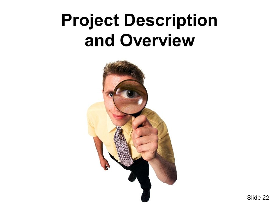 Project Description and Overview