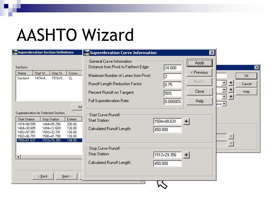 AASHTO Wizard 450.