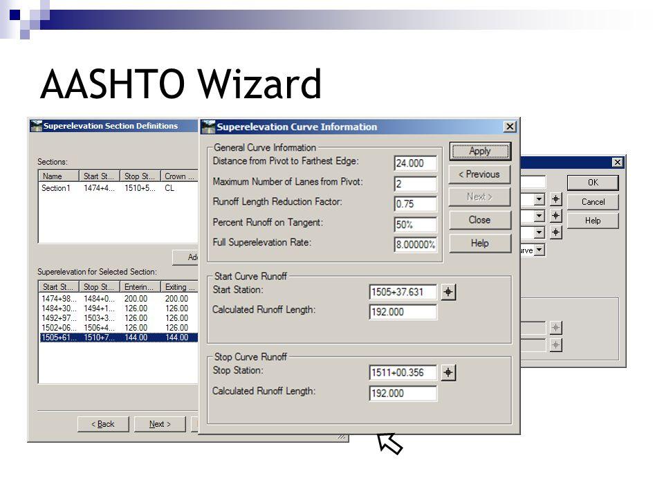 AASHTO Wizard 192.