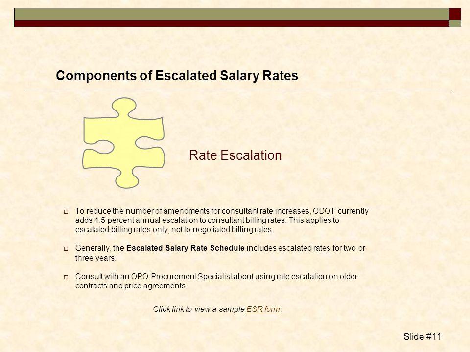 Click link to view a sample ESR form.