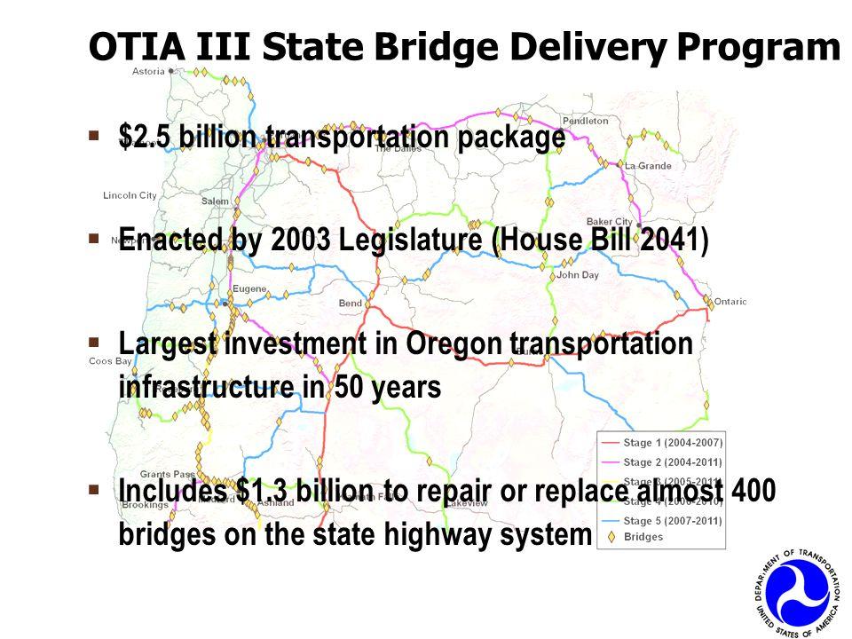 OTIA III State Bridge Delivery Program