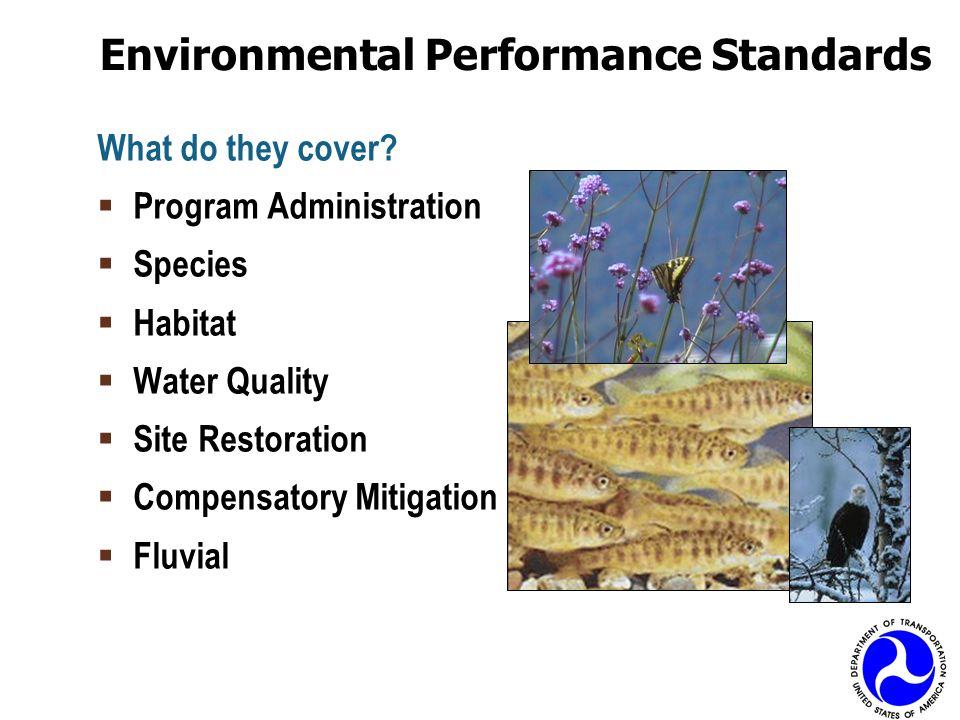 Environmental Performance Standards