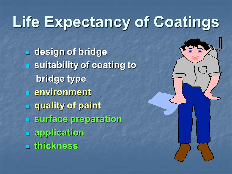Life Expectancy of Coatings