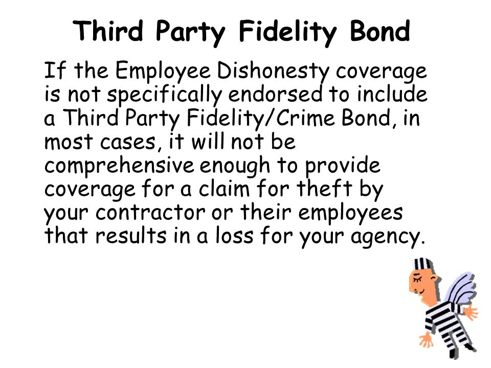 Third Party Fidelity Bond