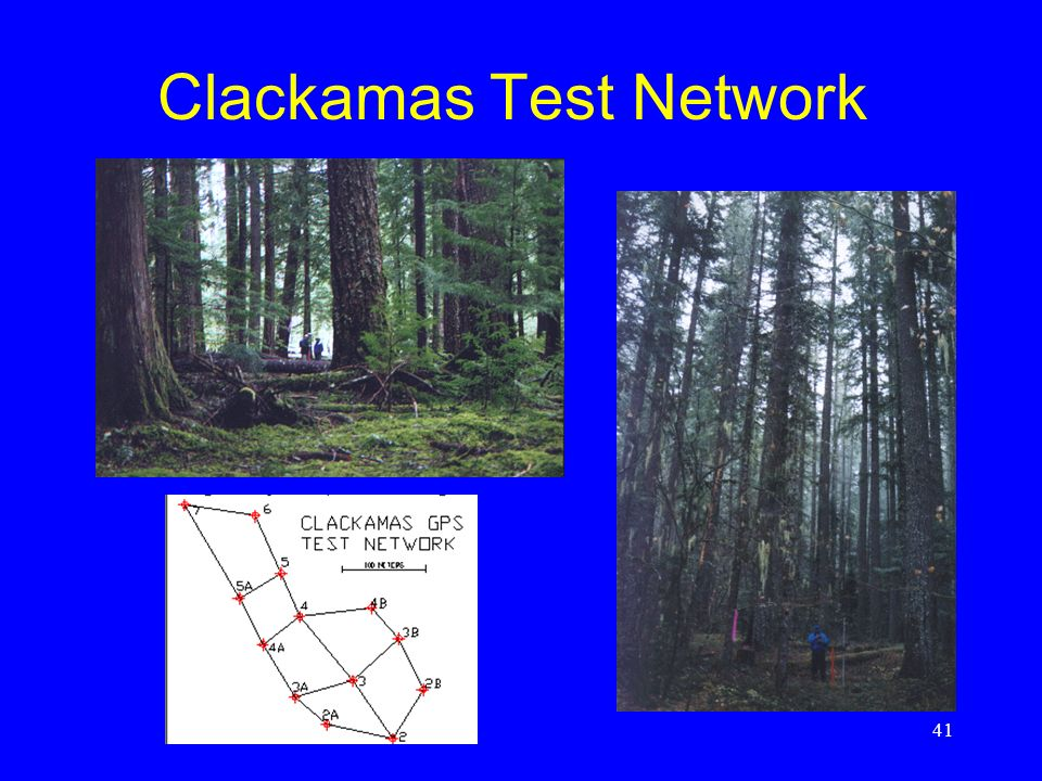 Clackamas Test Network