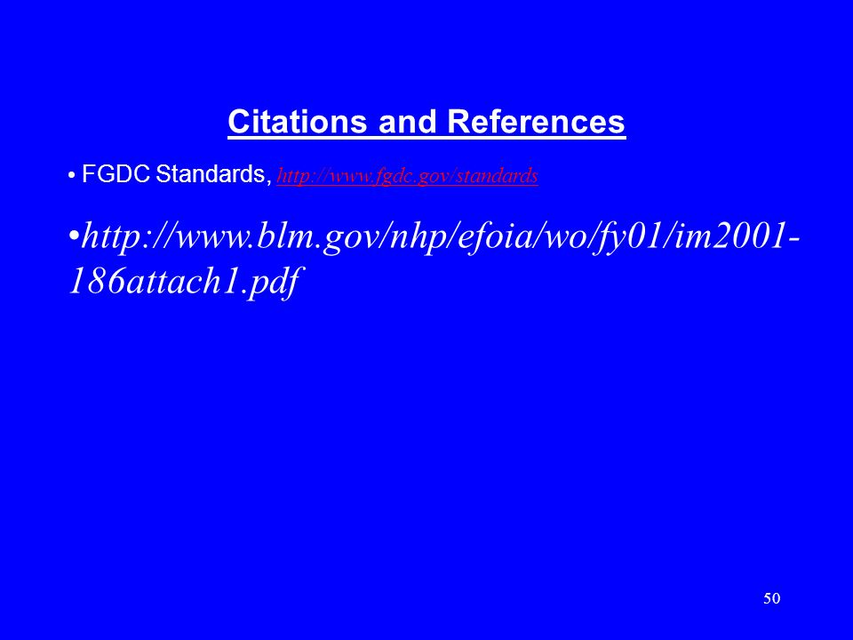 Citations and References