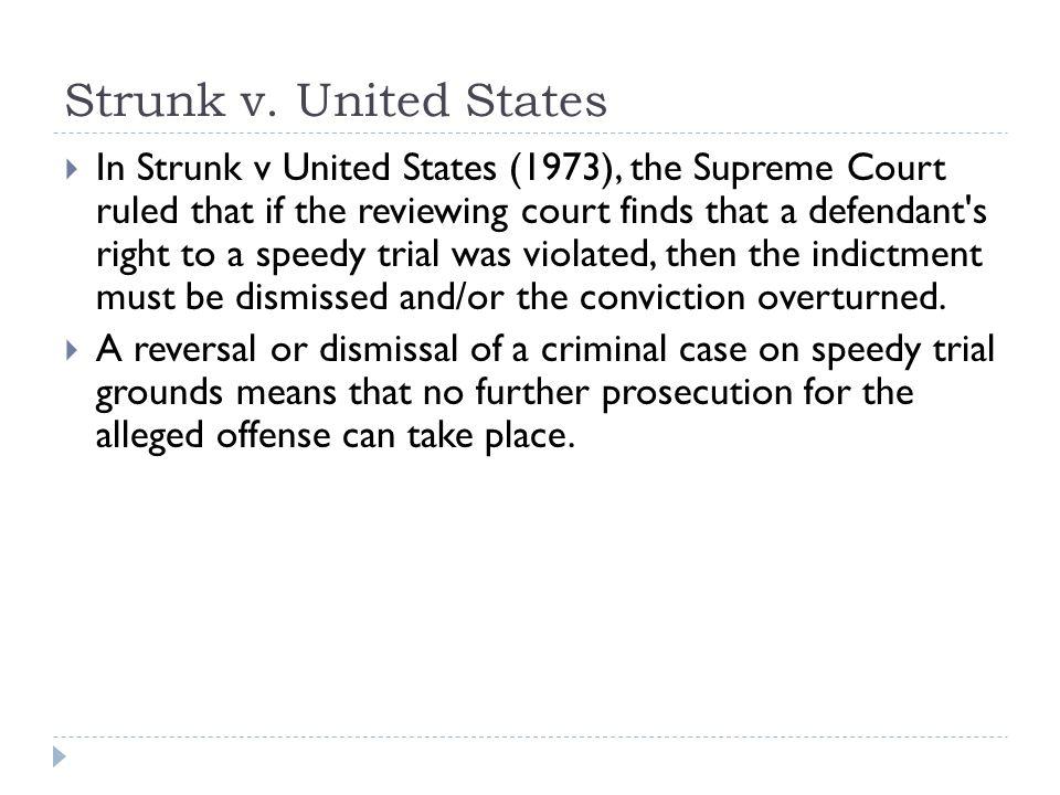 Strunk v. United States