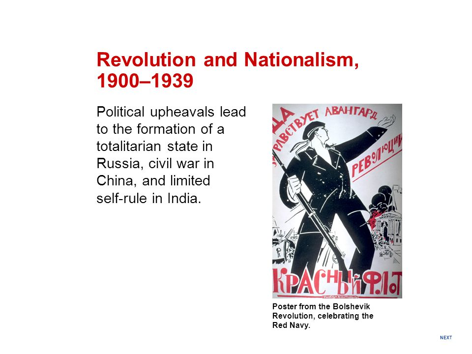 Revolution and Nationalism, 1900–1939
