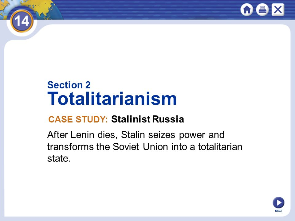 Totalitarianism Section 2