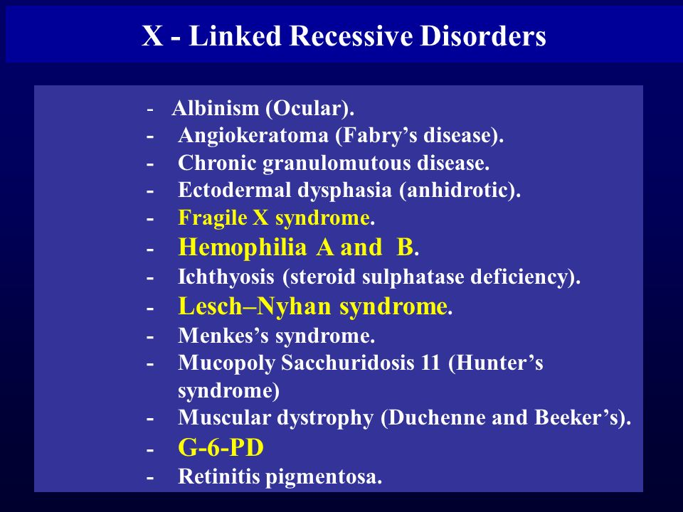 albinism this is an x linked disease Ocular albinism is inherited in an x-linked who need only one x chromosome with the albinism gene to manifest the disease females with the albinism gene on.