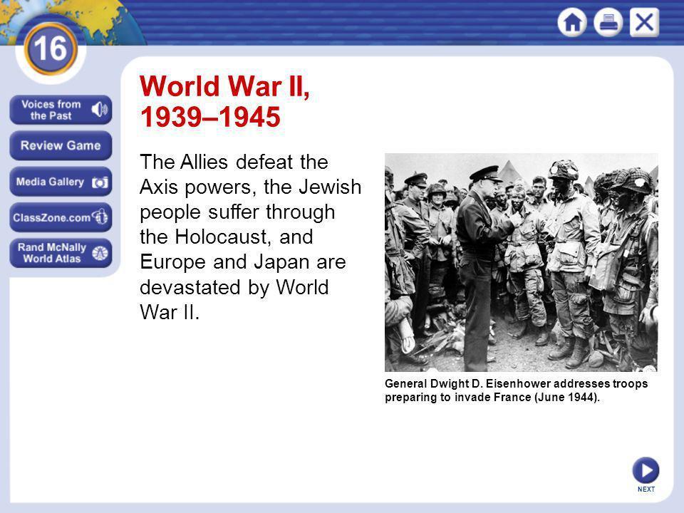 World War II, 1939–1945