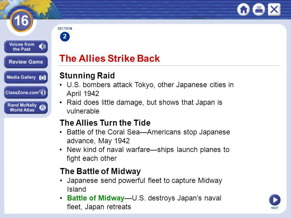The Allies Strike Back Stunning Raid The Allies Turn the Tide