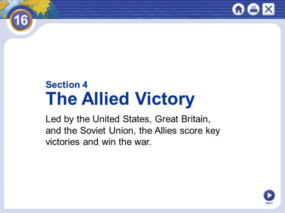 The Allied Victory Section 4