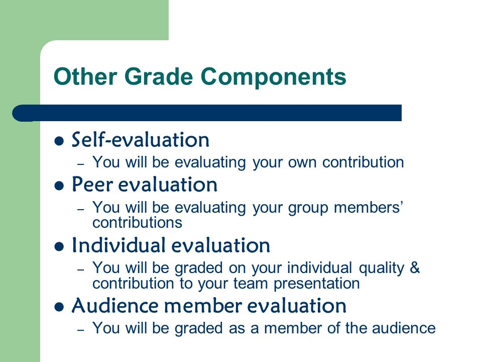 Other Grade Components