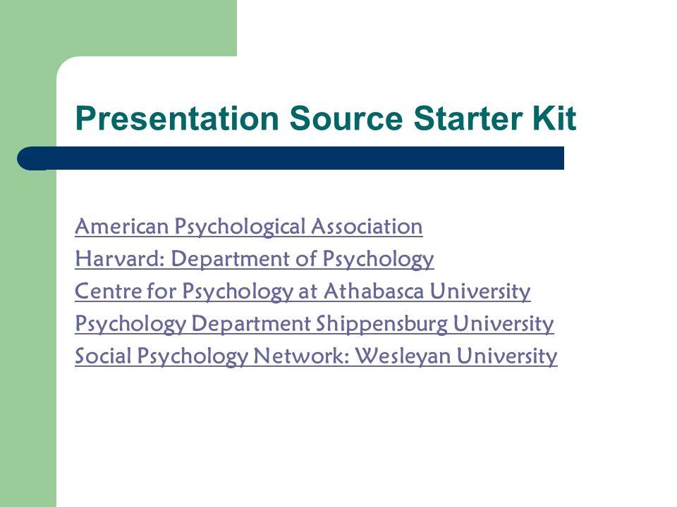 Presentation Source Starter Kit