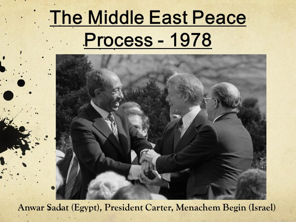 The Middle East Peace Process - 1978