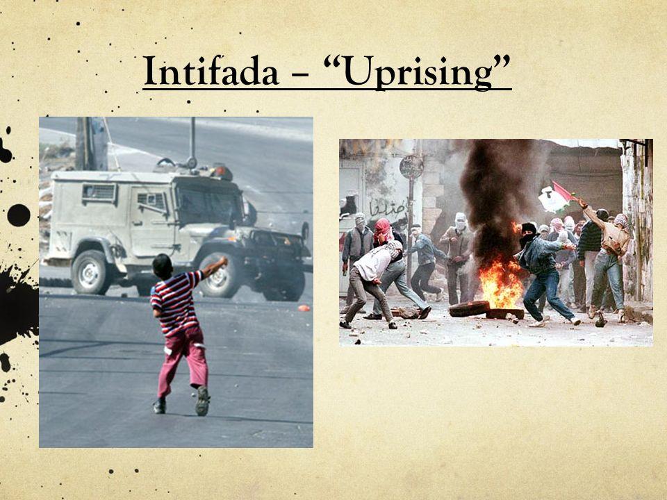 Intifada – Uprising