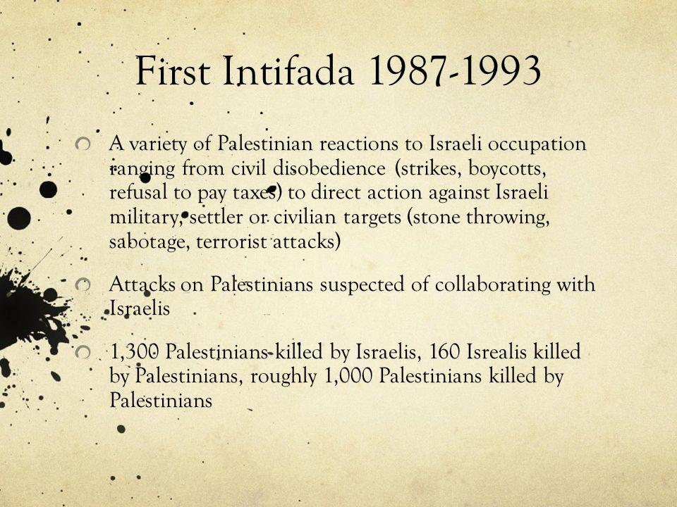 First Intifada 1987-1993